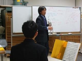 金管アンサンブル教室